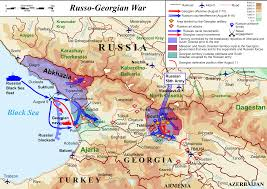 Map Of Russia And Europe by Russo Georgian War Wikipedia