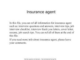 Secretary Job Description For Resume by Insurance Agent Cv Examples Insurance Agent Resume Example Travel
