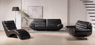 Modern Living Room Sets For Sale Simple In Modern Living Room Sets Uses Black Leather Couch Glass