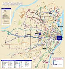 Greyhound Routes Map by System Maps Metro Transit U2013 St Louis