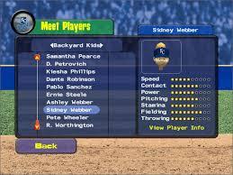 Original Backyard Baseball by Backyard Baseball 2009 Game Giant Bomb