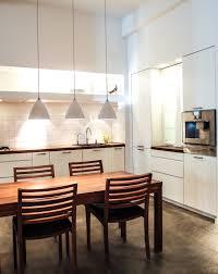a white kitchen in multiform u0027s copenhagen showroom the elegant