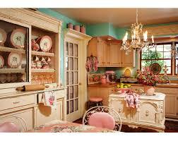 Shabby Chic Kitchen Cabinet Kitchen Style Marvelous Shabby Chic Kitchen Wall Unit Shelf