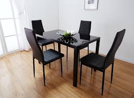 dining tables glamorous round glass dining table and chairs glass
