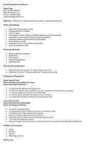 Secretary Job Description For Resume medical receptionist description doctor office receptionist resume