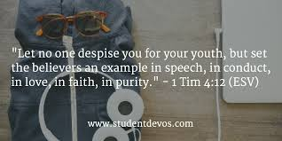 Daily Bible Verse and Devotion       Timothy      Student Devos