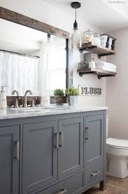 Bathroom Cabinet With Mirror And Light by Best 25 Gray Vanity Ideas On Pinterest Grey Bathroom Vanity