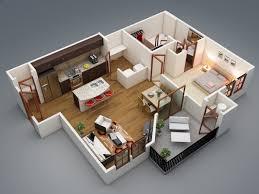 3d Floor Plans by 68 Best 3d Floor Plan Images On Pinterest 1 Bedroom Apartment