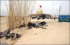 روایتگری حاج کاظم آفاق   آمدن حضرت ام البنین در طلائیه