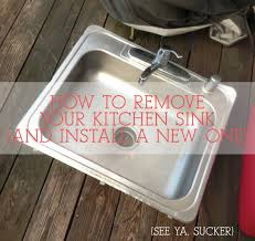 Removing An Old Kitchen Faucet by How To Disconnect U0026 Reconnect Your Kitchen Sink Ever After Happily