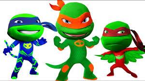 pj masks teenage mutant ninja turtles coloring pages for kids