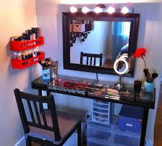 bedroom awesome bedroom vanity design with storage and mirror also