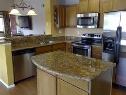 Marble Island Kitchen Black Extra Large Built In Oven Granite Kitchen Countertop Images