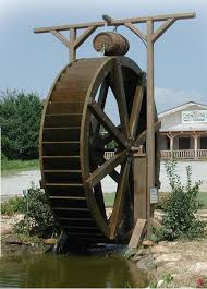 This is a waterwheel from google images