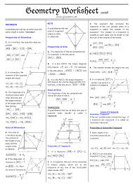 11 best images of area of quadrilateral worksheet types of