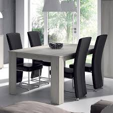 Chaise Salle A Manger Cdiscount by Table Salle A Manger Bois Gris Table A Manger Blanche Pas Cher