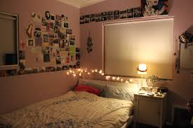 bunk beds combined string lights for bedroom bright brown wood bed