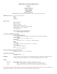 Federal Government Resume Template Alib