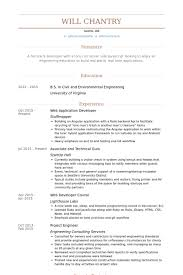 Application Resume Example by Web Application Developer Resume Samples Visualcv Resume Samples