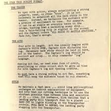 old style writing paper star trek pages from the writers guide for the original series star trek guide 1