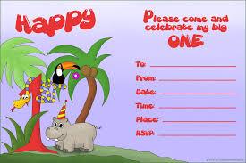 Create Invitation Card Free 20 Cute 1st Birthday Invitations Free Printable And Original