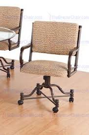 Swivel Dining Room Chairs Dining Room Chairs On Casters 1 Best Dining Room Furniture Sets