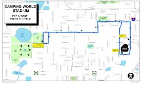 Map Of The Villages Florida by Maps Camping World Stadium