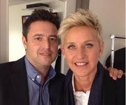 ellen scares the heck out of andy lassner again and it u0027s hilarious