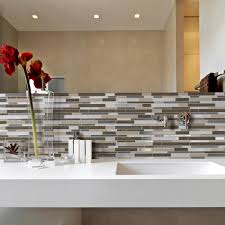 kitchen decor exciting kitchen ideas with peel and stick mosaic