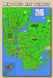 Map New York City by Super Mario New York City Subway Map Updated Again Some