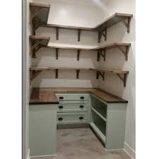 dream pantry is complete walls shiplap and painted