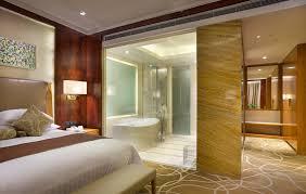 master bedroom with bathroom design home interior design