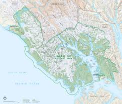 Juneau Alaska Map by Area Maps Glacier Bay National Park U0026 Preserve Ak Glacier Bay