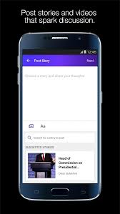 Yahoo Newsroom for Communities  screenshot Google Play
