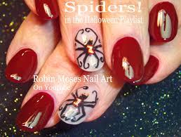 Robin Moses Nail Art by Robin Moses Nail Art Cute Halloween Nail Art Witches On