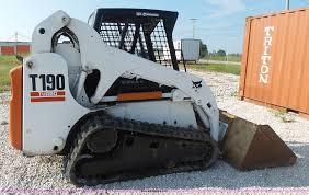 100 bobcat t190 service manual bobcat skid steer attachment