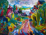 File:Beatty Drive, Congleton, oil painting by Natalia Chernogolova ...