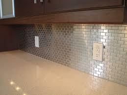 modern glass tile backsplash u2014 smith design stainless steel