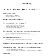 Methods Of Case Study Research Paulino Silva Babson College SOPHIE Newsletter  Explanatory Case Study Method  June