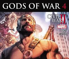 Gods Of War by Civil War Ii Gods Of War 2016 4 Comics Marvel Com