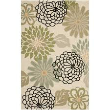 Green And Beige Rug Amazon Com Safavieh Four Seasons Collection Frs224a Hand Hooked
