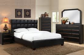 Leather Bedroom Sets Creditrestoreus - White tufted leather bedroom set