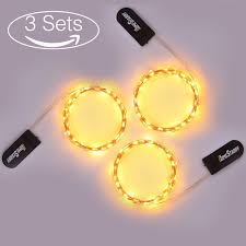 homestarry 10ft 30 micro leds battery operated string lights