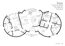 floor plans 4 bedrooms monolithic dome institute