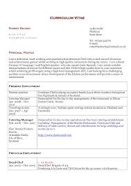 Cook Resume Sample Pdf Executive Chef Resume Examples Resume Example And Free Resume Maker
