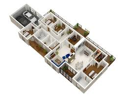 Best House Floor Plan Images On Pinterest Architecture - Apartment house plans designs
