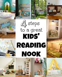 4 steps to a great kids u0027 reading nook tipsaholic