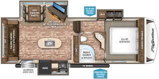 Fifth Wheel Bunkhouse Floor Plans 2017 Grand Design Reflection 26rl Good Life Rv