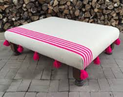 Footstools Ottomans by Moroccan Ottoman Etsy