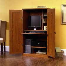 Desk Armoire Home Design Ikea Office Armoire Intended For The Best Desk Wuoizz